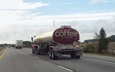 Best Coffee on the Interstate. Returning home.