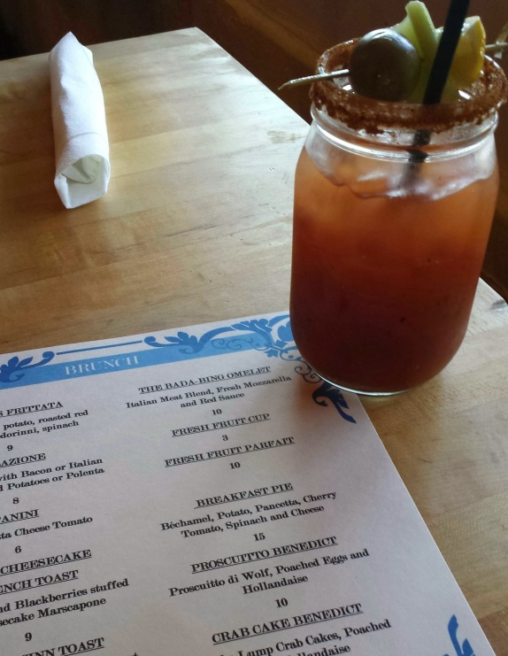 Bloody Mary at Wolfies, Orlando, FL