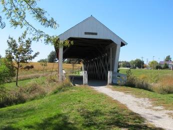Imes Bridge, St. Charles, Iowa.