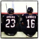 Omark & Lander. Lander & Omark.