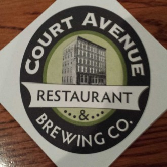 Court Avenue Brewing Company. (Highly recommended!)