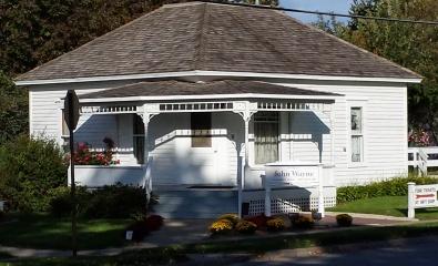 John Waynes Birthplace in Winterset, Iowa.