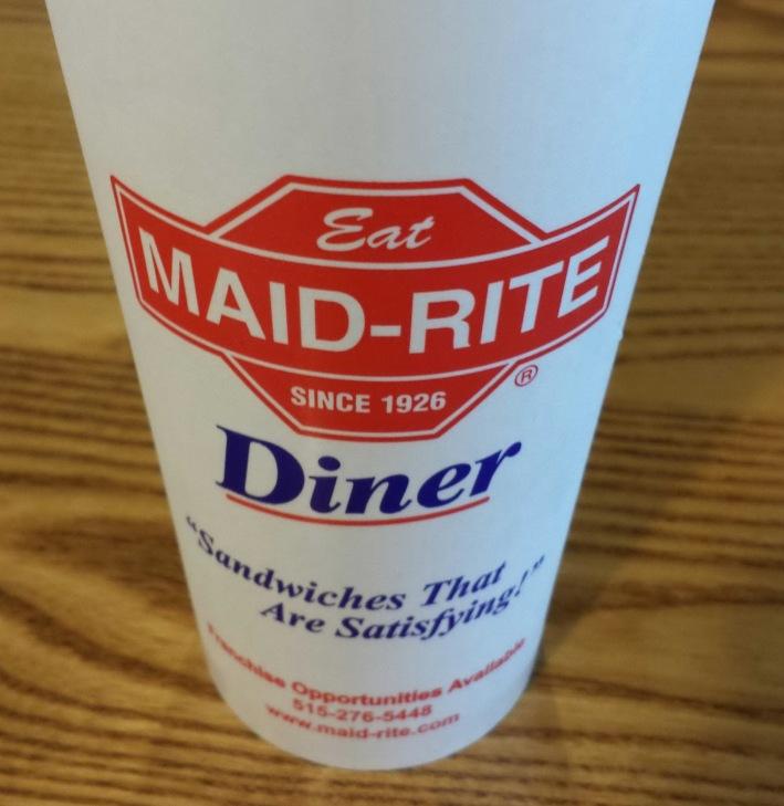 Maid Rite Iowa Tradition. Departing Iowa.