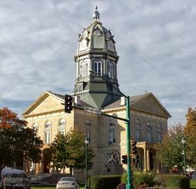 Winterset, Iowa Town Square.